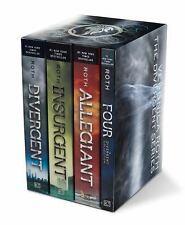Divergent Series 4-Book Paperback Box Set: Divergent, Insurgent, Allegiant, Four