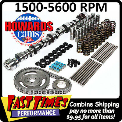 HOWARD/'S SBC Small Chevy Retro-Fit Hyd Roller 290//298 560//560 110° Cam Camshaft