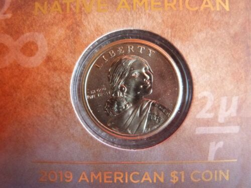 2019 American $1 Coin and Currency Set U.S Space Program Enhanced $1 Coin 19NR