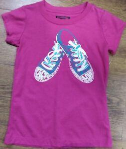 New Eglantine Print Girls Tags Converse Shirt T Shoe With Brand KFlJ1c