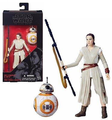 Jakku The Black Series 6-Inch Rey Hasbro Star Wars The Force Awakens and BB-8