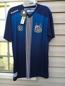 New Kappa Santos FC 2016 Third Jersey São Paulo Brazil Sz M ... 7bc8a747a4d44
