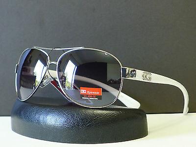 New DG Designer Womens Trendy Classic Aviator Sunglasses Retro Shades +Soft Bag