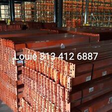 Pallet Rack Upright Interlak Industrial Shelving Heavy Duty Shelf Tear Drop Ship