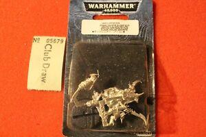 Atelier de jeux Warhammer 40k Eldar Noir Archon Metal Nouveau Bnib Oop Gw Wh40k
