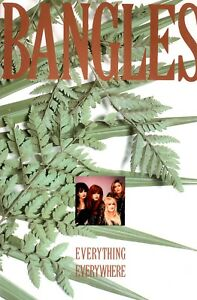 BANGLES-1988-EVERYTHING-EVERYWHERE-TOUR-CONCERT-PROGRAM-BOOK-NMT-2-MINT