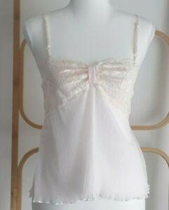 Vintage Berlei Pink Underwire Bra and Cami Camisole Set Size 12B