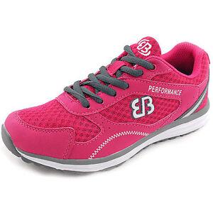 Ladies Womens Brütting Running Sports Lace Trainers
