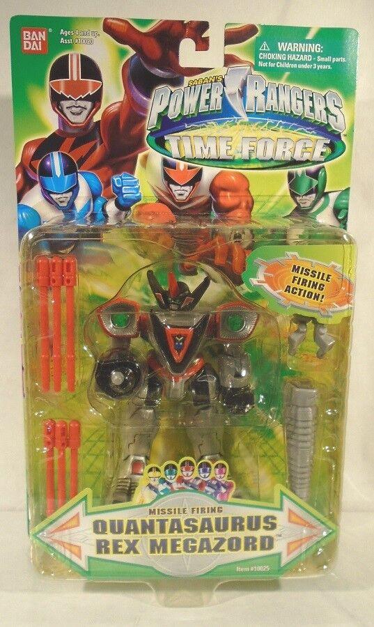 Power Rangers Time Force Quantasaurus Rex Megazord Missile Firing Firing Firing 5