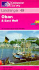 Oban and East Mull by Ordnance Survey (Sheet map, folded, 1992)
