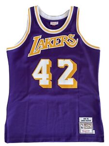 Mitchell & Ness Authentic Lakers James Worthy Jersey 1984-85 ...