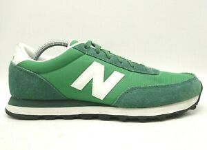 New Balance 501 Green White Leather