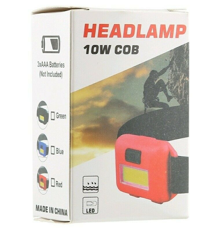 Headlamps led perfect for hiking,camping, loadshedding,  fishing and its available.