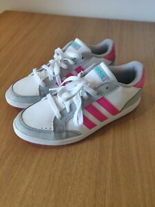 Adidas-Daily-Wear-Sport-Junior-Femme-Lumiere-Baskets-Baskets-Taille-5-UK