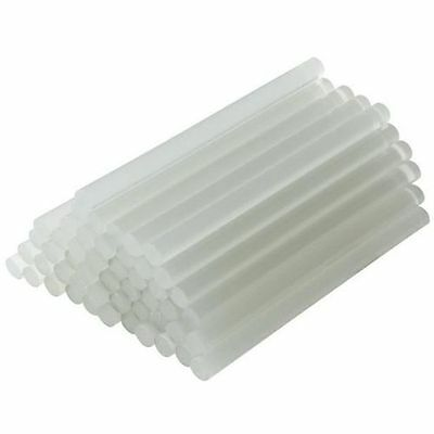 "60 Hot Melt Mini Glue Gun Stick 0.27 x 4"" Clear White Wholesale Lot (7x100mm)"