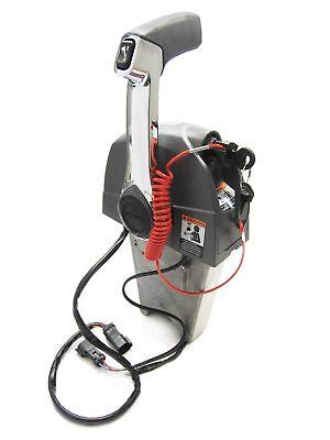 OMC Johnson Evinrude Single Lever Binnacle Mount Throttle Control Box 5006186 745419342159 EBay