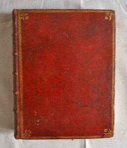 selten-Buch-alte-Sammlung-Wertpapiere-Staaten-von-Bourgogne-Band-I-1784