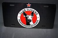 Club Tijuana Metal License Plate For Cars Mexico Mx Football Mx Soccer.