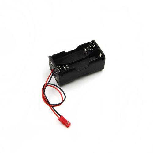 6V Volt 4X AA DIY Battery Holder Case Box Base PCB Mount Wire Lead Plastic