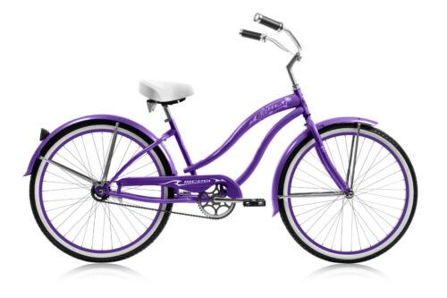 "Micargi MBI 26/"" ROVER GX Women beach cruiser bicycle bike Pink"