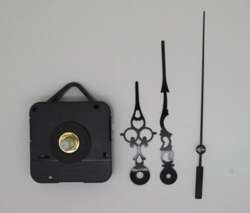 9,8cm CADRAN FIN aiguilles 6,80 mécanisme horloge pendule quartz
