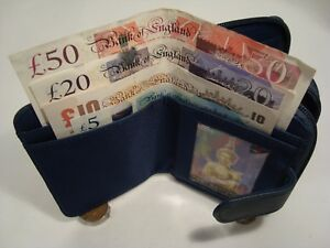 Real-Leather-Ladies-Purse-Wallet-with-Three-Sections-for-Note-Change-Cards-RFID