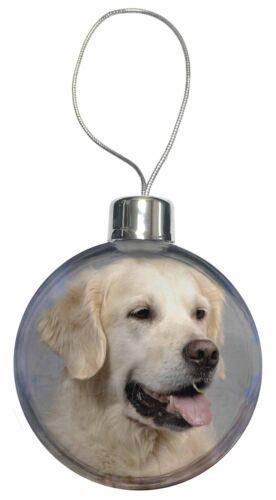 AD-GR58CB Golden Retriever Dog Christmas Tree Bauble Decoration Gift