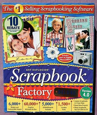 art explosion scrapbook factory deluxe 4.0 free download