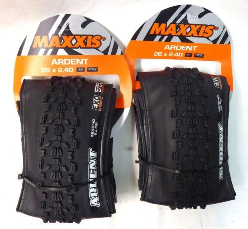 "Maxxis Ardent 26/"" x 2.4 Pair Tubeless Ready Folding"