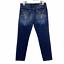 thumbnail 1 - Kut From The Kloth Catherine Slim Boyfriend Cropped Jeans Dark Blue Denim Size 8