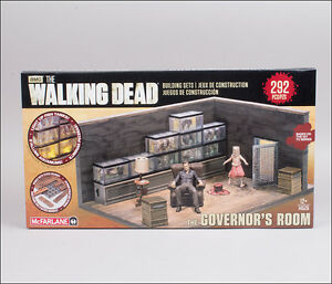 Governor´s Room The Walking Dead Horror Building Set TV MBS 14526 McFarlane