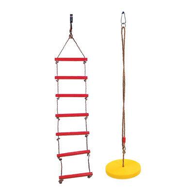 Kinder Outdoor Klettern Spielzeug Set, Baum hängende