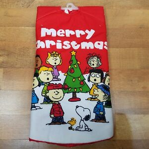 Peanuts Christmas Tree.Details About Snoopy Peanuts Christmas Tree Skirt 48 Charlie Brown Snoopy And The Gang