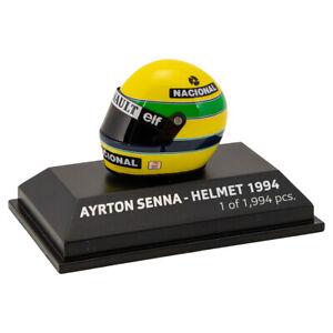 Casque Tête Casquée A. Senna San Marino Gp 1994 F1 Minichamps Pma 543389402 1/8 New Neuf Dans Sa Boîte-afficher Le Titre D'origine