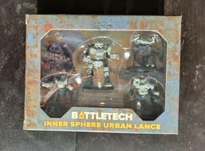 BATTLETECH - INNER SPHERE URBAN LANCE - WAVE 2 CLAN INVASION KICKSTARTER