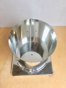 Round-Candle-Mold-4-034-x-4-1-2-034-Metal-Pillar-1-wick-hole-NEW