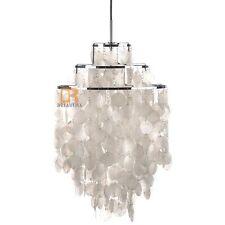 "Modern Crystal Seashell Fun Lamp Pendant Suspension Light Chandelier-Φ 15.74"""