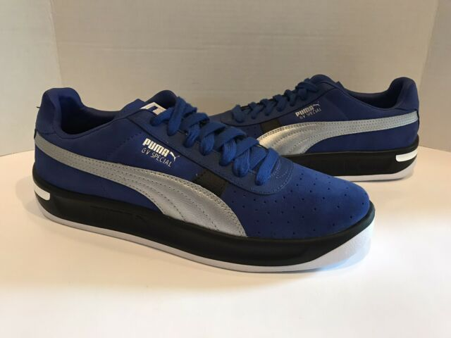 Puma GV Special Speedway Men's Low Sneakers Size US10.5 (370589-01) -Blue(C1)