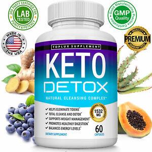 Keto Diet DETOX Pills 1532 MG - Ketosis Weight Loss Supplements Fat Burn & Carb