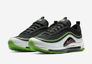 new product 93709 4e1c8 Details about Nike Air Max 97 Dallas Black Bright Crimson White Rage Green  CD7788-001