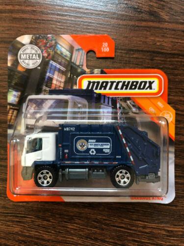 2020 Matchbox Garbage King MBX City #20//100 OVP estrenar