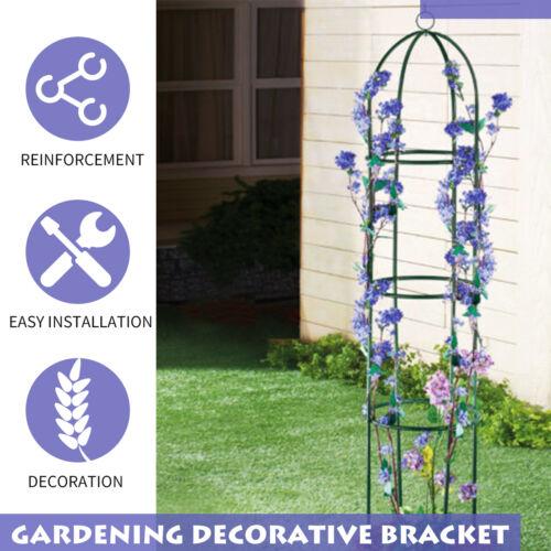 Gardening Stand Flower Display Climbing Plant Rack Vine Holder Support Frame