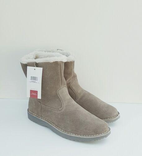en Trader Bottes Fourrure en 11 Sherpa Coton Doublées Taille Vison q1wHUYx6