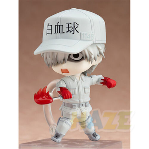 White Blood Cell Action PVC Figure Jouets 10cm Nendoroid 979 Cells at Work