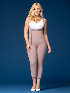 feea47e7b7d Image is loading Fajas-DPrada-11022-Colombian-Medicated-Girdle-with-Surgical -