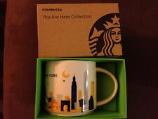 NEW STARBUCKS NEW YORK CITY You Are Here MUG NYC New for 2013 FREE Shipping