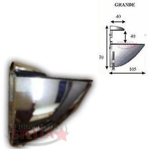 Reggimensola Tucano Per Legno.Dettagli Su Reggimensola Reggi Mensola Cromo Lucido Vetro Legno Tucano Morsetto Becco Grande