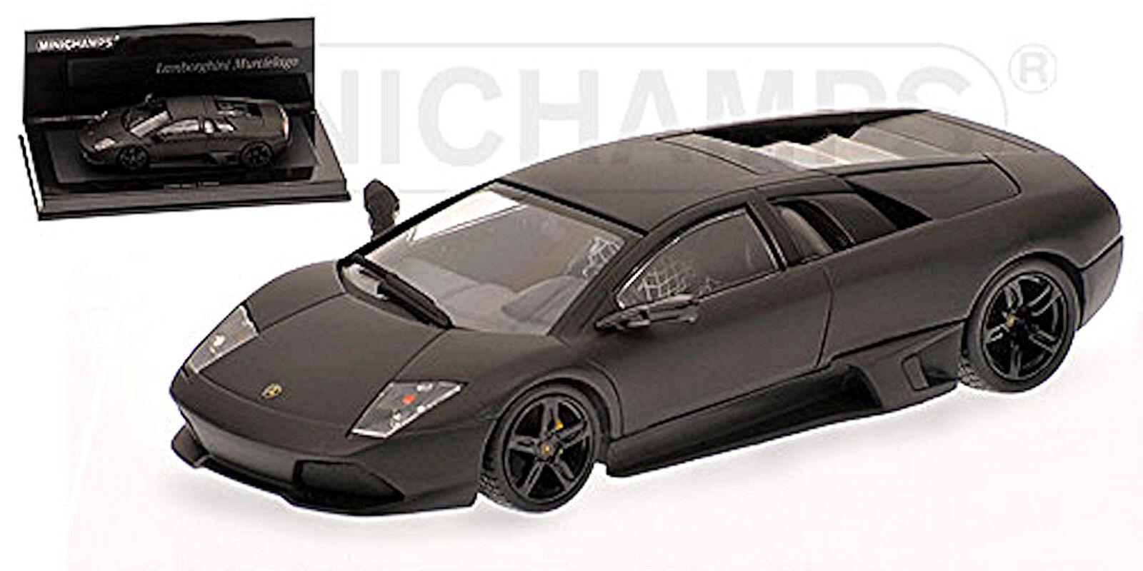 Lamborghini Murcielago 2006 #5 noir mat noir Linea Opaca #5 2006 - 1:43 Minichamps cb4185