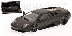 Lamborghini-Murcielago-2006-matt-schwarz-black-Linea-Opaca-5-1-43-Minichamps