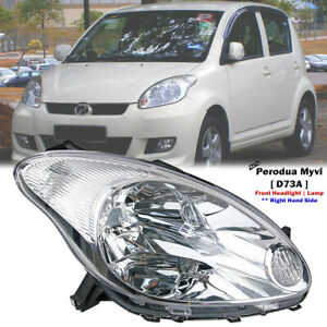 DEPO Front Right Side RHS Headlight Lamp For Perodua Myvi Standard LE 2005-11